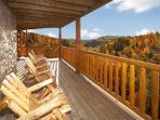 View from Lookout Lodge