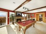First Floor Game Room with Pool Table at Perfection!
