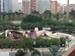 Vista desde la azotea del Parque infantil gratuito Gulliver a 1min caminando