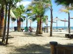 The infamous Trocadero beach in Marbella. A 45 min drive away and worth the trip for the fab beach.