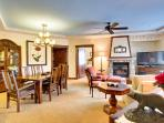 Newly Remodeled in Extreme Luxury, 2-Bedroom Slope-Side Crystal Peak Lodge Ski-In Ski-Out Condo