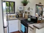 Kitchen overlooks Great Room