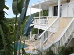 Stairs from Upper Deck to Pool Deck