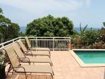 Lounge and sunbathe or star gaze on Pool Deck