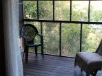 Master Suite screened porch
