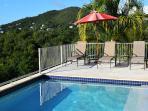 Lounge and sunbathe or star gaze on the upper Pool Deck