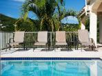 Loungers on Pool Deck