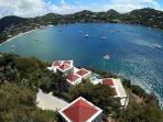 2-Aerial view of VI Friendship overlooking Great Cruz Bay
