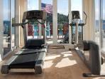 5- Exercise Room overlooking Great Cruz Bay