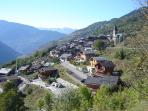 The Chalet & Montagny in the Summer