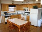Kitchen at Cozy Mountain View