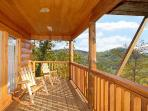 Main Level Deck with Rockers at The Great Outdoors