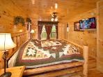 master Bedroom at Big Bear Cub House