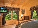 Bedroom at Big Bear Cub House