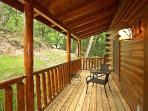 Rear Deck at Big Bear Cub House