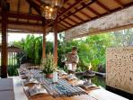 3. Villa Amy - Dining table