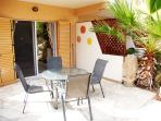 Private Patio. Accessed from main Living area. Plenty of space for Dining and Sun-Bathing.