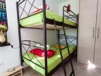 The Bunk Bed in Quarduple room ( + sofa bed )