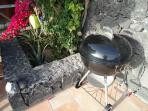 Weber BBQ and all tools provided.