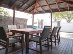 Sit back and relax with friends with the Alfresco area providing a second living area.