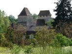 The Historic Village and Church- Pressignac