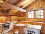 Open Plan kitchen - Marmotte Mountain Azimuth - Argentiere Chalet