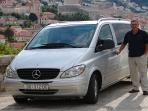 Our Van airport transfer service