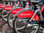 Rent a Boris Bike (one minute away from the house) and explore London,