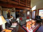 This spacious cabin on Montana's Big Hole River is perfect for the big hunt or weekend get-away.