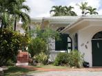 Cabana Entranceway