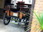 The owners traditional horse drawn carriage