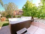 Hot tub, spa, jacuzzi, enough room for 7 at West Coast Villa