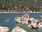 Plenty to explore around the lake, Boulder Bay hike!