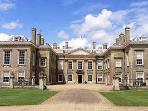 Althorp House and the burial place of Lady Diana
