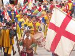 The Anghiari Palio-celebrating the victory in 1440