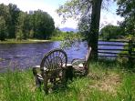 Relaxation is the name of the game and some will find it along the banks of the Big Hole River.