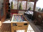 Foosball Tabl at Rock Around The Clock