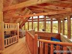 View of Lofted Bedroom at Wilderness Lodge