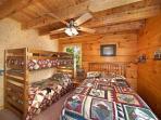 Bedroom at Eagle's Loft