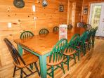 Dining Area at Bearly In The Mountains