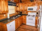 Kitchen at Bearly In The Mountains