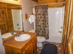 Bathroom at Bearly In The Mountains