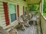 Deck at Bearly In The Mountains