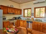 Fully equipped kitchen with granite countertop. Guest are always treated with a personal touch!