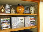 Music, cd's and dvd's.