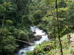 Blue rivers, blue waterfalls just 45 minutes from our vacation rentals!!