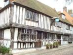 Rye, just 3 miles away, has many ancient buildings and is a joy to explore.
