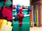 The children's playroom is home to a selection of toys for all ages!
