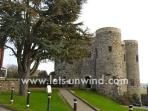 Ypres Castle in Rye, one of many historic building to explore.