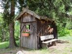 Kartenspielerhaus Chalet Hafling Leckplått